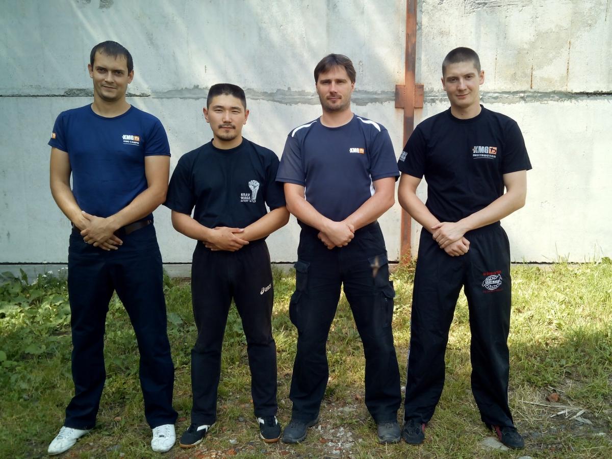 Крав Мага: Тренинг оборона на улице